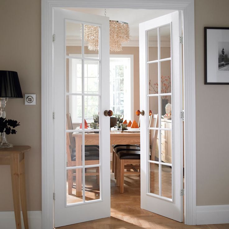 10 Lite Clear Glass French Door