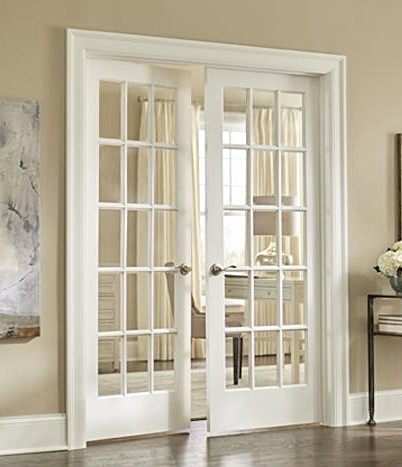 15-Lite Clear Glass Interior Door